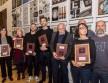 Arany Rajzszög-díjazottak